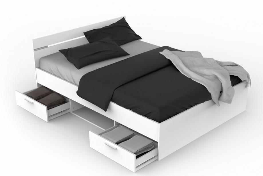 Dormitorios completos de matrimonio - Liquidatodo - Cama con cajones ...