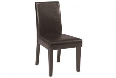 Pack 2 sillas vintage de comedor moderna y barata en color chocolate