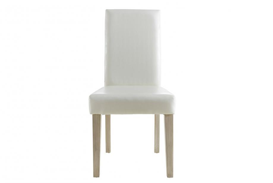 Pack 2 sillas vintage de comedor moderna y barata en color blanco