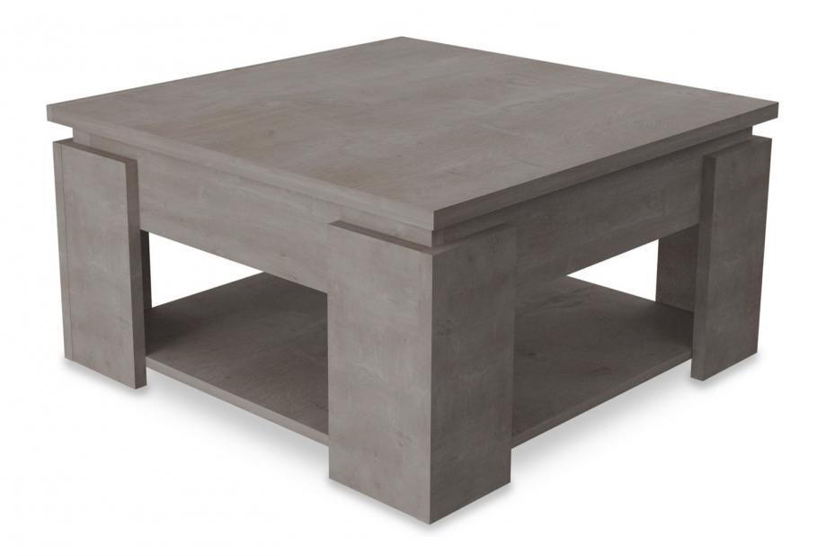Mesas de centro liquidatodo mesa de centro cuadrada moderna y barata de 80 x 80 cm en color - Mesas bajas de centro ...