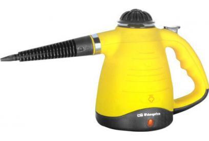 Liquidación de Limpiador a vapor portátil Orbegozo LV 3450 0.27L 900W Negro, Amarillo