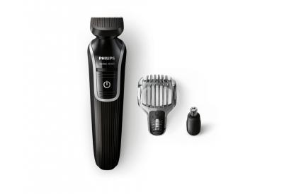 Liquidación de Recortador de barba y precisión 3 en 1 Philips Multigroom QG3320/15