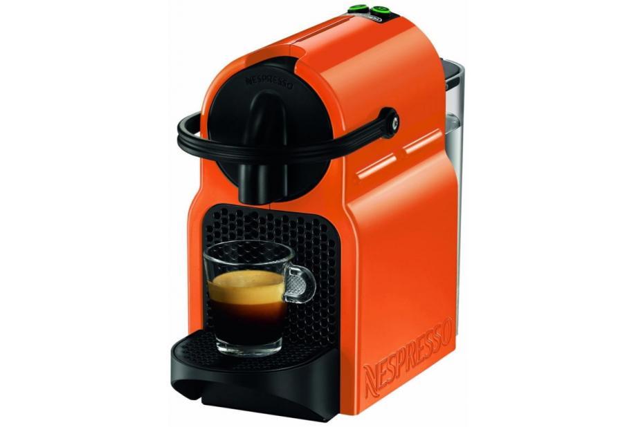 Liquidación de Máquina de café en cápsulas DeLonghi Inissia Independiente Totalmente automática 0.7L Naranja