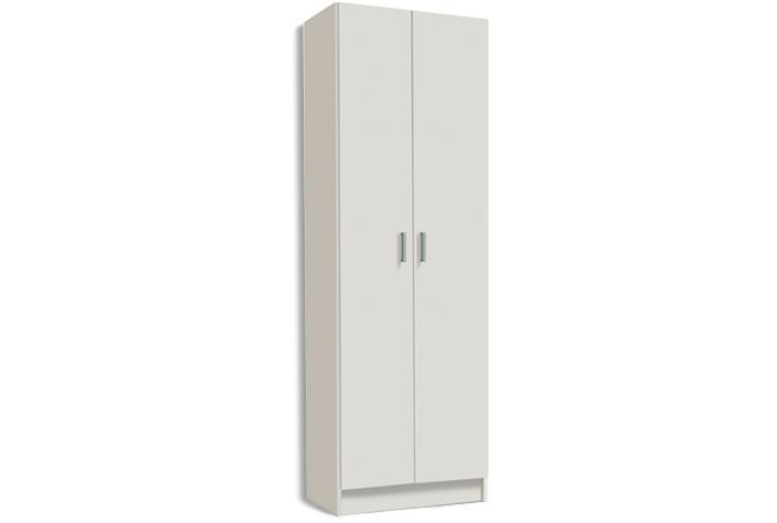 Armario multiusos 2 puertas color blanco
