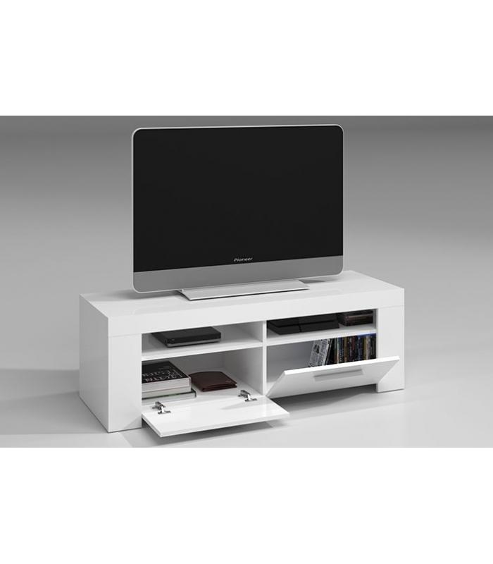 Muebles de tv liquidatodo mueble tv blanco brillo ambit - Mueble television barato ...