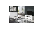 Mueble TV blanco brillo Ambit