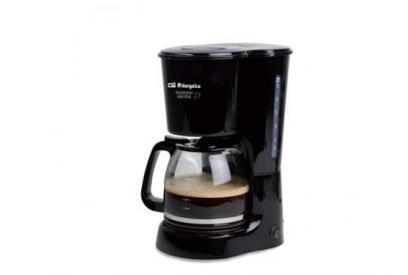 Liquidación de Cafetera de filtro 12 tazas Orbegozo CG4022 Independiente Semi-automática Negro cafetera eléctrica