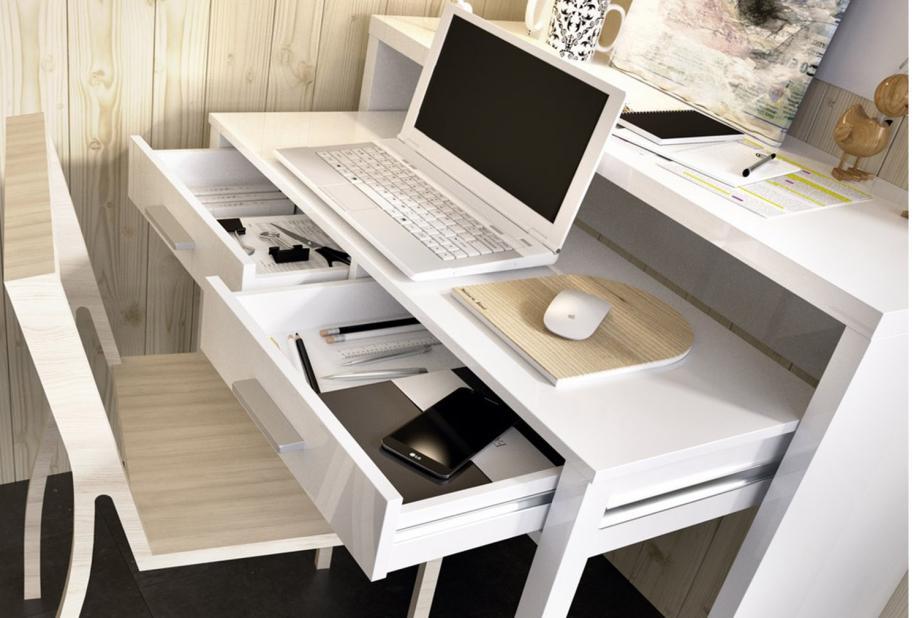 Mesas de oficina liquidatodo mesa de escritorio for Mesa oficina moderna