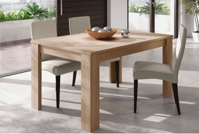 mesa comedor extensible kendra color nature