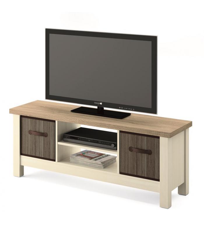 Muebles de tv liquidatodo mesa tv n rdica en color - Muebles color cambrian ...