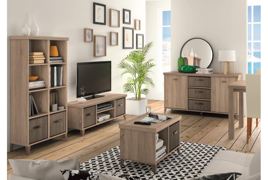 Mesa de TV Nordika en color Cambrian