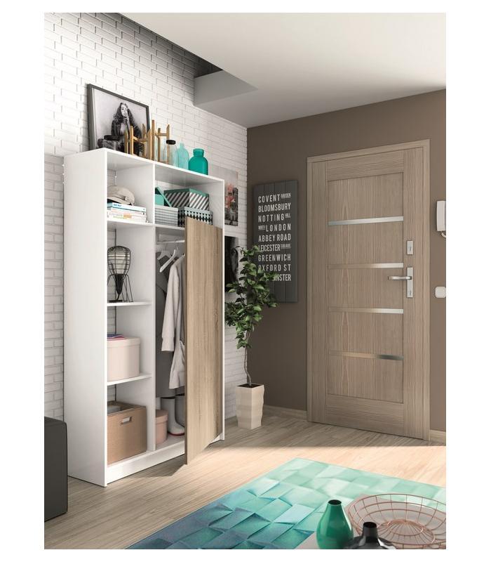 Recibidores liquidatodo armario recibidor con puerta nordico - Armario recibidor ...