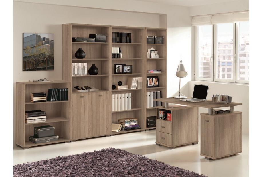 Librería estanteria baja de 75 cm en cambrian