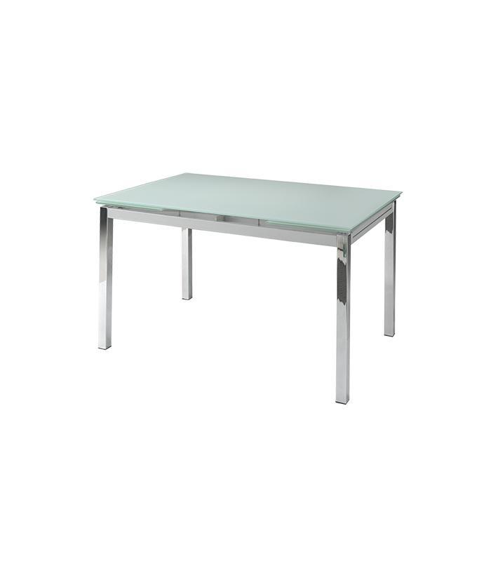 Mesas de comedor liquidatodo mesa extensible con sobre for Mesa de vidrio extensible