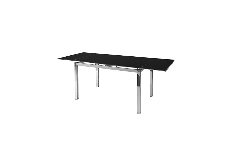 Mesas de comedor liquidatodo mesa extensible con sobre for Comedor negro de vidrio