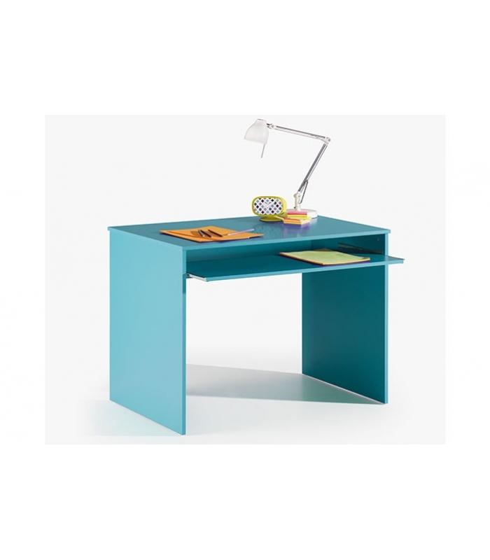 Mesas de oficina liquidatodo mesa ordenador i joy azul for Ordenador oficina