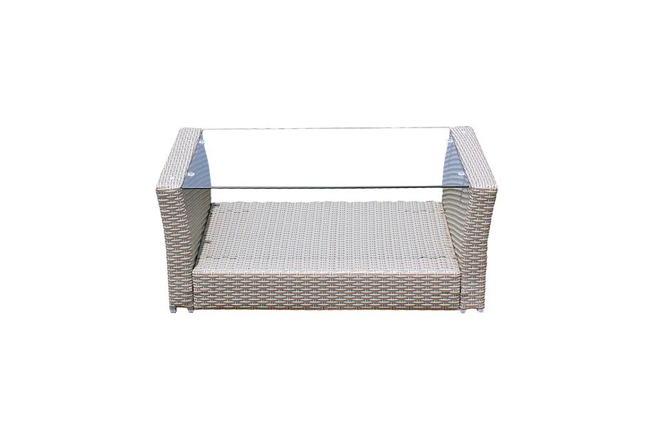 Conjuntos de jard n liquidatodo conjunto de terraza en for Conjunto jardin rattan sintetico