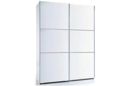 Armario moderno con puertas correderas color blanco