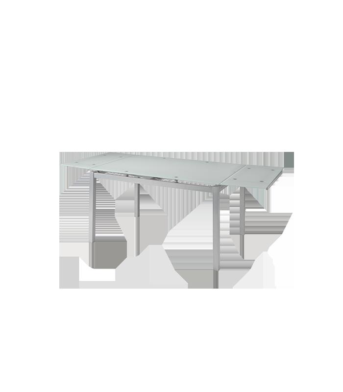 Mesas de comedor liquidatodo mesa extensible con for Mesas de comedor de cristal extensibles