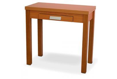 Mesa de cocina extensible con sobre MDF Cerezo