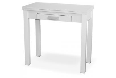Mesa de cocina extensible con sobre MDF Blanco