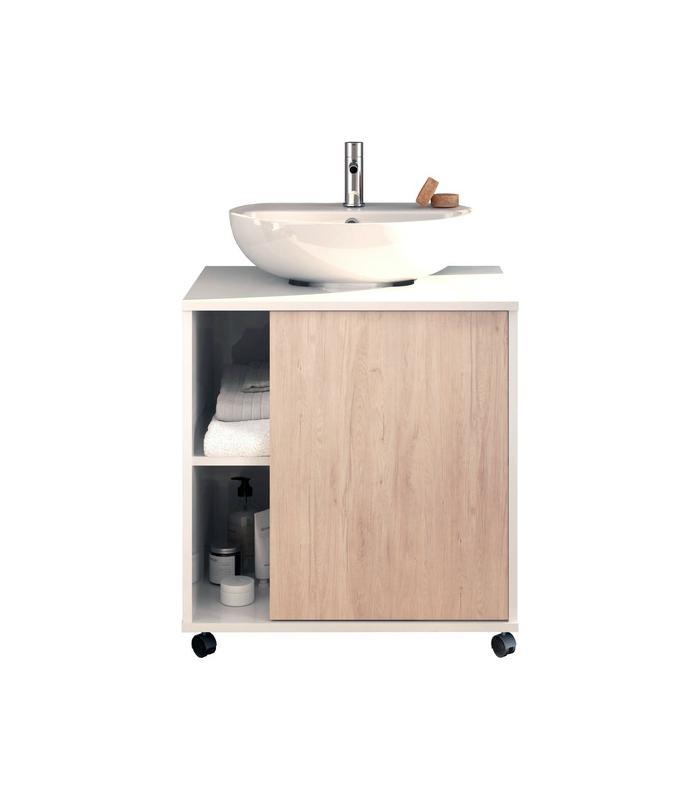 Muebles de ba o en oferta liquidatodo mueble bajo lavabo acabado blanco cambrian puerta - Mueble de bano oferta ...