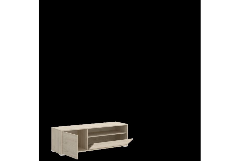 Mueble de tv de diseño nórdico 130 cm color natural