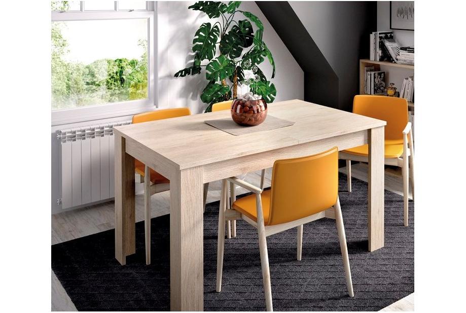 Mesa extensible 90 cm color natural
