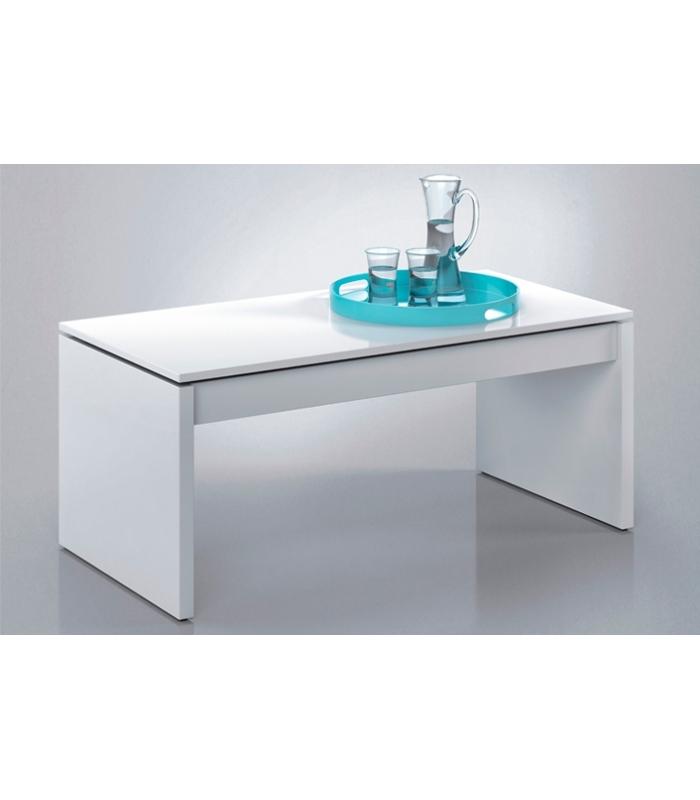mesas de centro liquidatodo mesa de centro elevable blanca