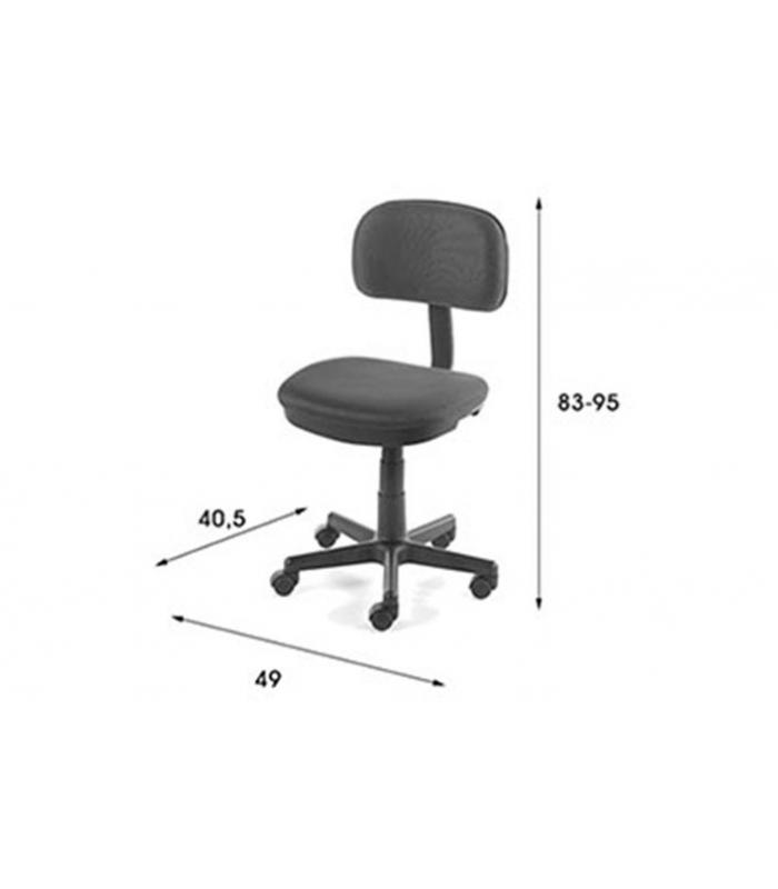 Sillas de oficina liquidatodo silla estudio lion azul for Estudio sillas