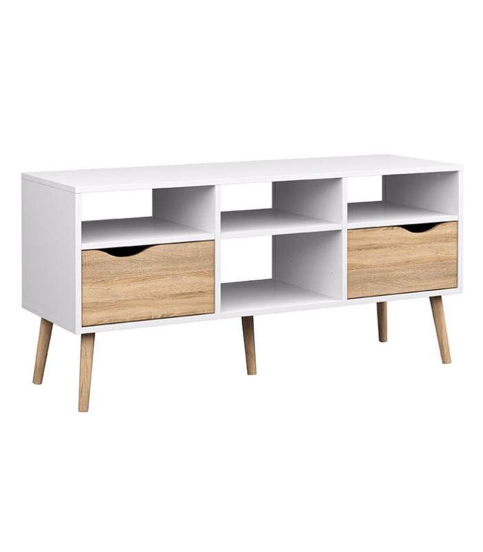 Muebles De Tv Liquidatodo Mueble Tv 2 Cajones Delta