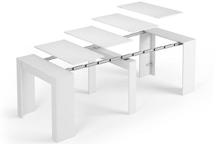 Mesas de comedor - Liquidatodo - Mesa consola convertible ceniza ...