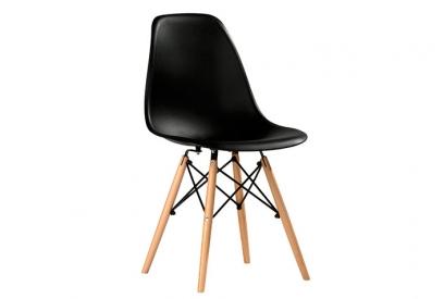 Pack 4 sillas polipropileno negro