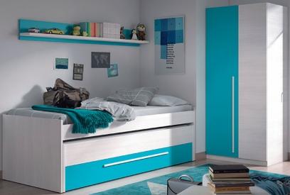 Dormitorio juvenil Cyan