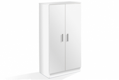 Zapatero Basic 2 puertas blanco