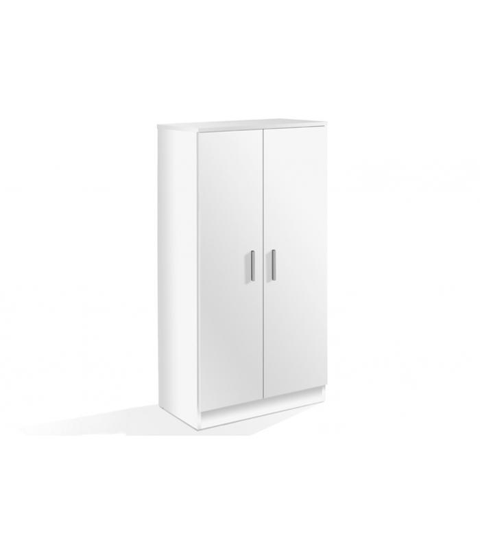 zapateros liquidatodo zapatero basic 2 puertas blanco