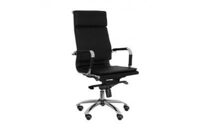 Sillón de oficina ergonómico moderno y barato en color negro