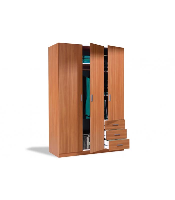 Armarios liquidatodo armario max323c 3 puertas 3 cajones - Armario de plastico para exterior ...