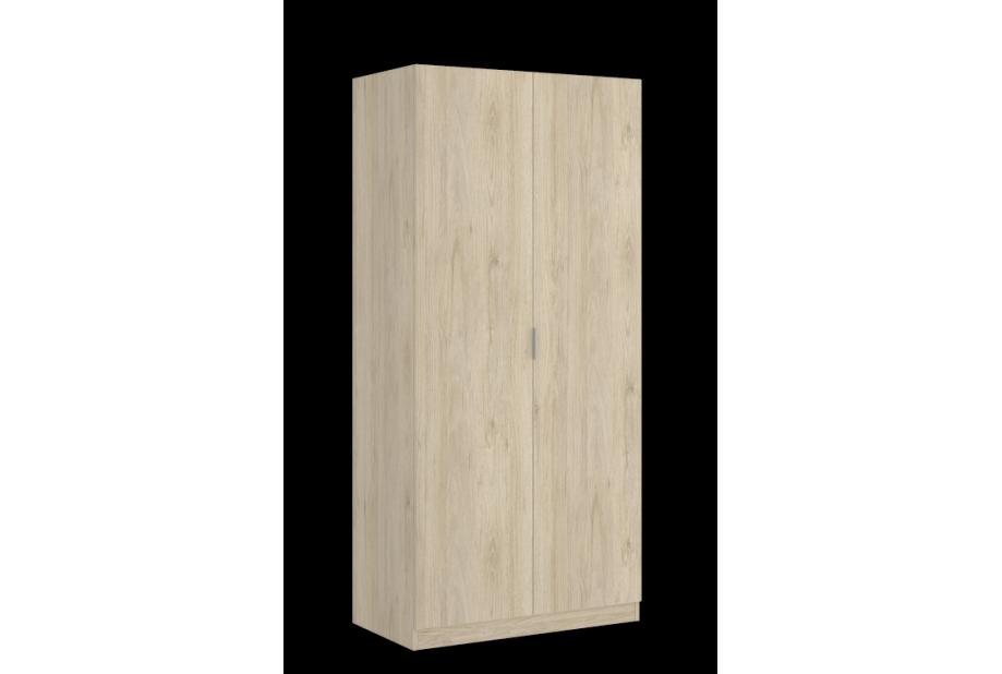 Armario de 2 puertas moderno y barato de 80cm