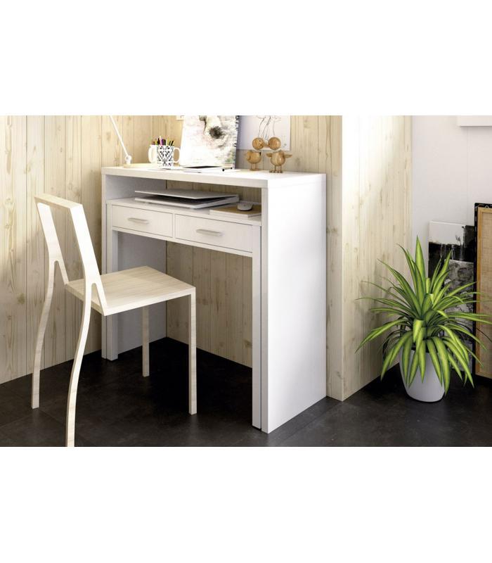 Mesas de oficina liquidatodo mesa de escritorio extensible moderna y barata de 100cm en - Mesas de escritorio ...