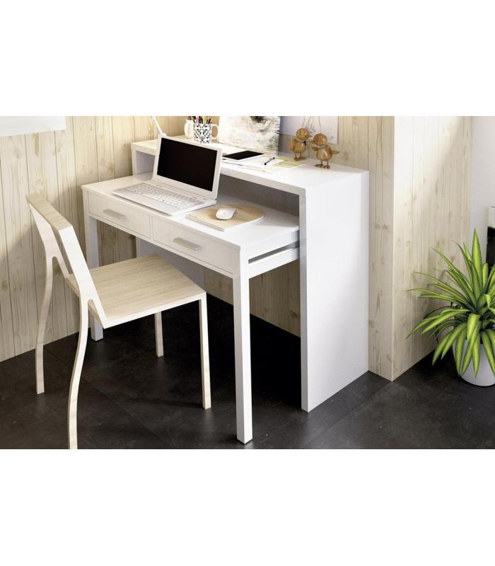 Mesas de oficina liquidatodo mesa de escritorio for Mesa extensible moderna