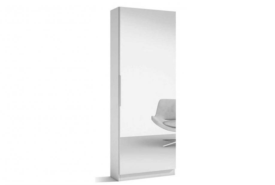 Zapateros liquidatodo armario zapatero con espejo for Armario zapatero con espejo