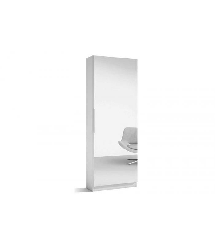 Zapateros liquidatodo armario zapatero con espejo for Zapatero 40 cm ancho