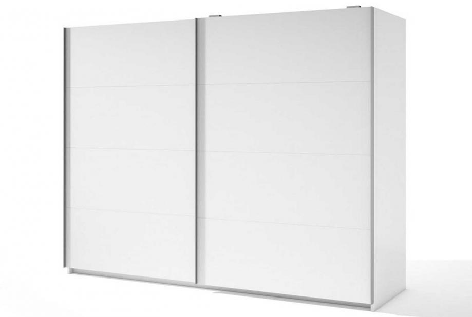 Armario de 2 puertas correderas moderno y barato de 181 cm en color Blanco