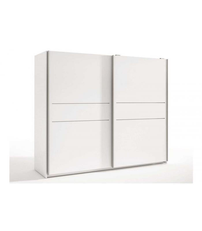 armarios liquidatodo armario de 2 puertas correderas On armario blanco puerta corredera barato