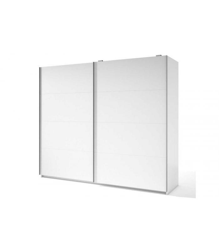 Armario Quarto Madeira Maciça ~ Armarios Liquidatodo Armario de 2 puertas correderas moderno y barato de 201 cm en color Blanco