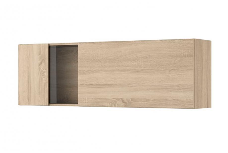 Modulo alto de vitrina con 1 puerta moderno y barato en color cambrian