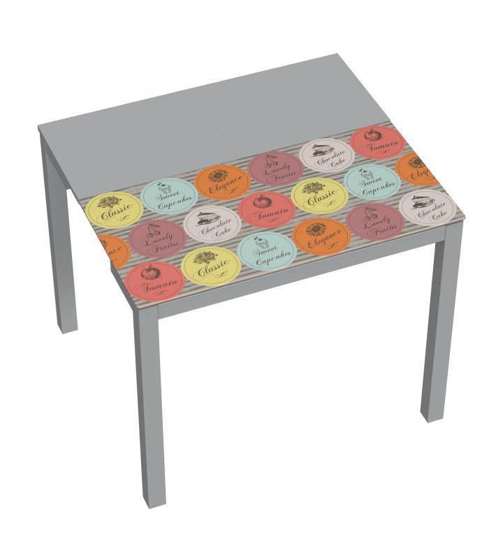 Mesas de cocina - Liquidatodo - Mesa extensible de cocina moderna y ...