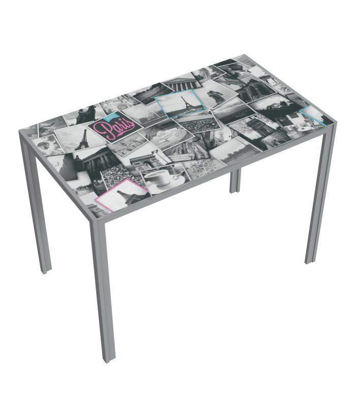 Mesas de cocina liquidatodo mesa cocina moderna y for Mesa cocina barata
