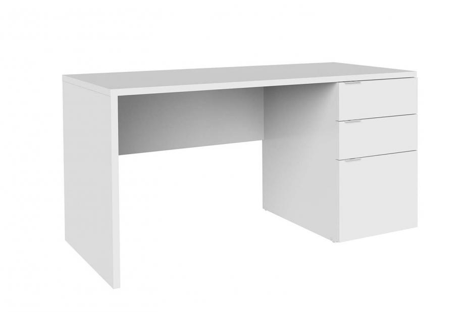 Mesas de oficina liquidatodo mesa de escritorio de 3 for Mesa escritorio moderna